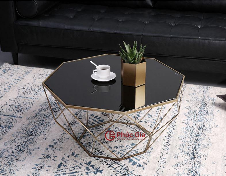 Bàn trà kim cương - Bàn sofa - B1