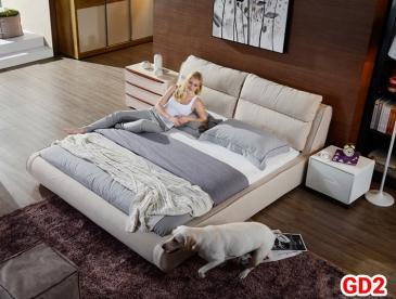 Giường ngủ bọc da GD02