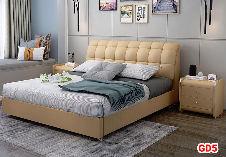 Giường ngủ bọc da GD05