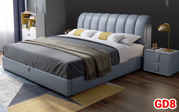 Giường ngủ bọc da GD08