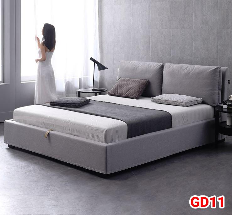 Giường ngủ bọc da GD11