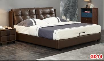 Giường ngủ bọc da GD14