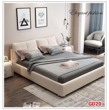 Giường ngủ bọc da GD20