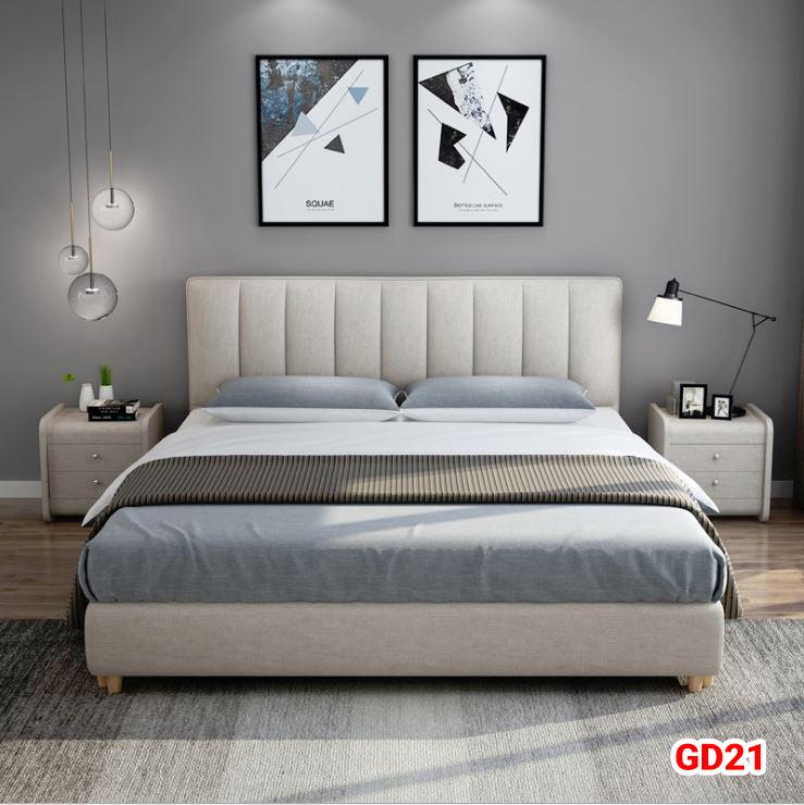 Giường ngủ bọc da GD21