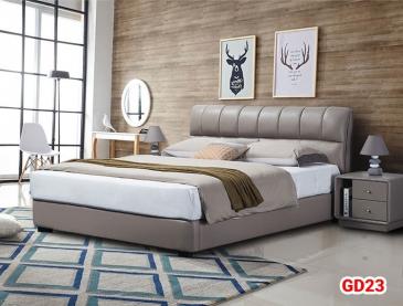 Giường ngủ bọc da GD23