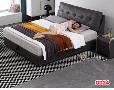Giường ngủ bọc da GD24