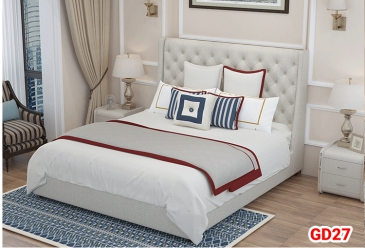 Giường ngủ bọc da GD27