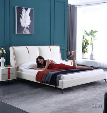 Giường ngủ bọc da GD31