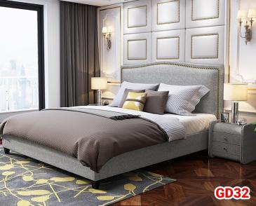 Giường ngủ bọc da GD32