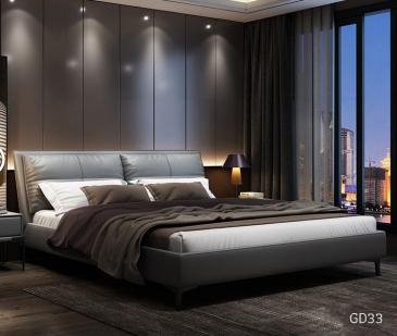 Giường ngủ bọc da GD33