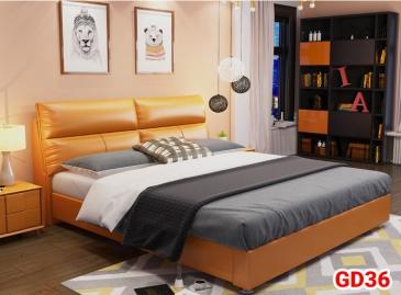 Giường ngủ bọc da GD36