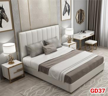 Giường ngủ bọc da GD37