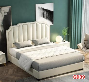 Giường ngủ bọc da GD39