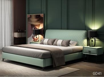 Giường ngủ bọc da GD41
