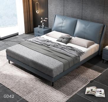 Giường ngủ bọc da GD42