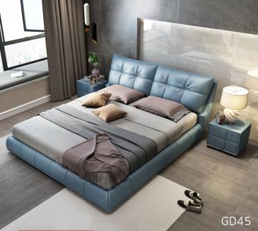 Giường ngủ bọc da GD45