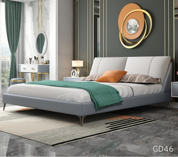 Giường ngủ bọc da GD46