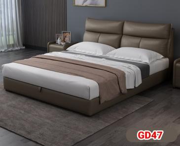 Giường ngủ bọc da GD47