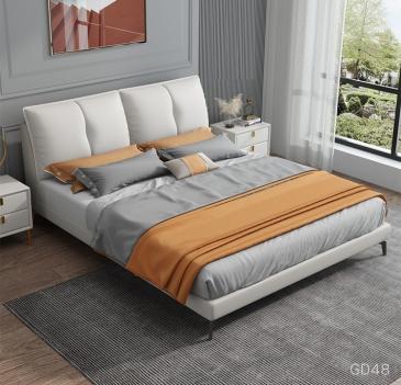 Giường ngủ bọc da GD48