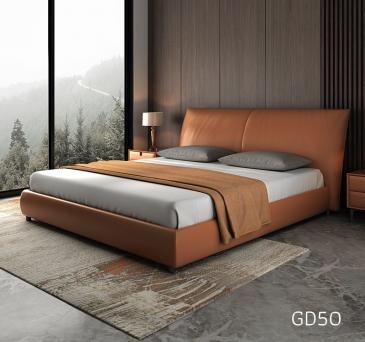 Giường ngủ bọc da GD50