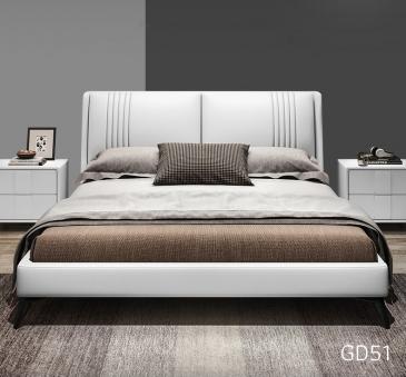 Giường ngủ bọc da GD51