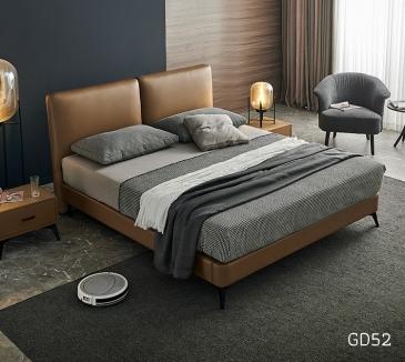 Giường ngủ bọc da GD52