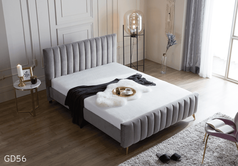 Giường ngủ bọc da GD56