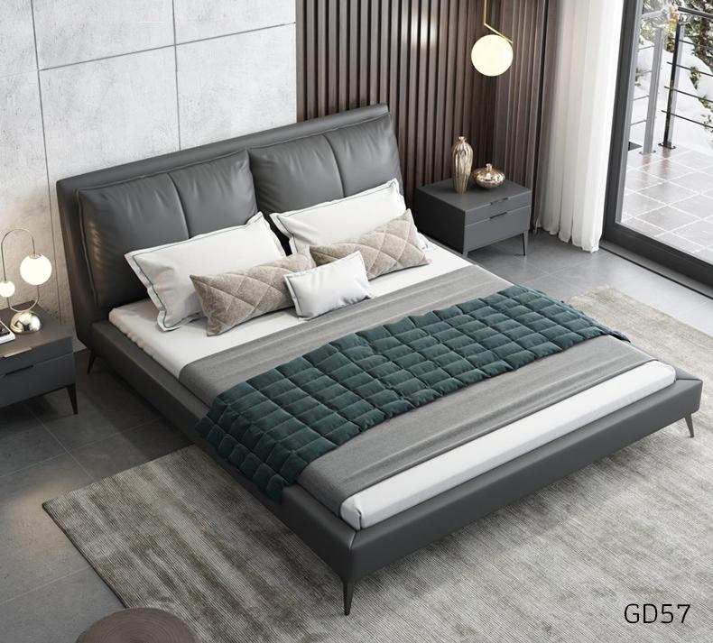 Giường ngủ bọc da GD57
