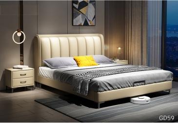 Giường ngủ bọc da GD59