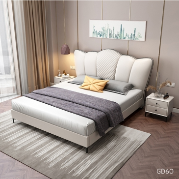 Giường ngủ bọc da GD60