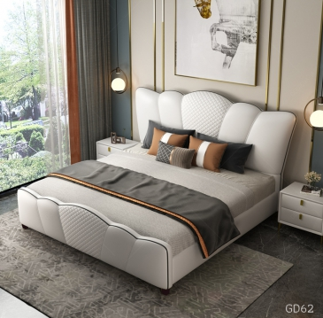 Giường ngủ bọc da GD62