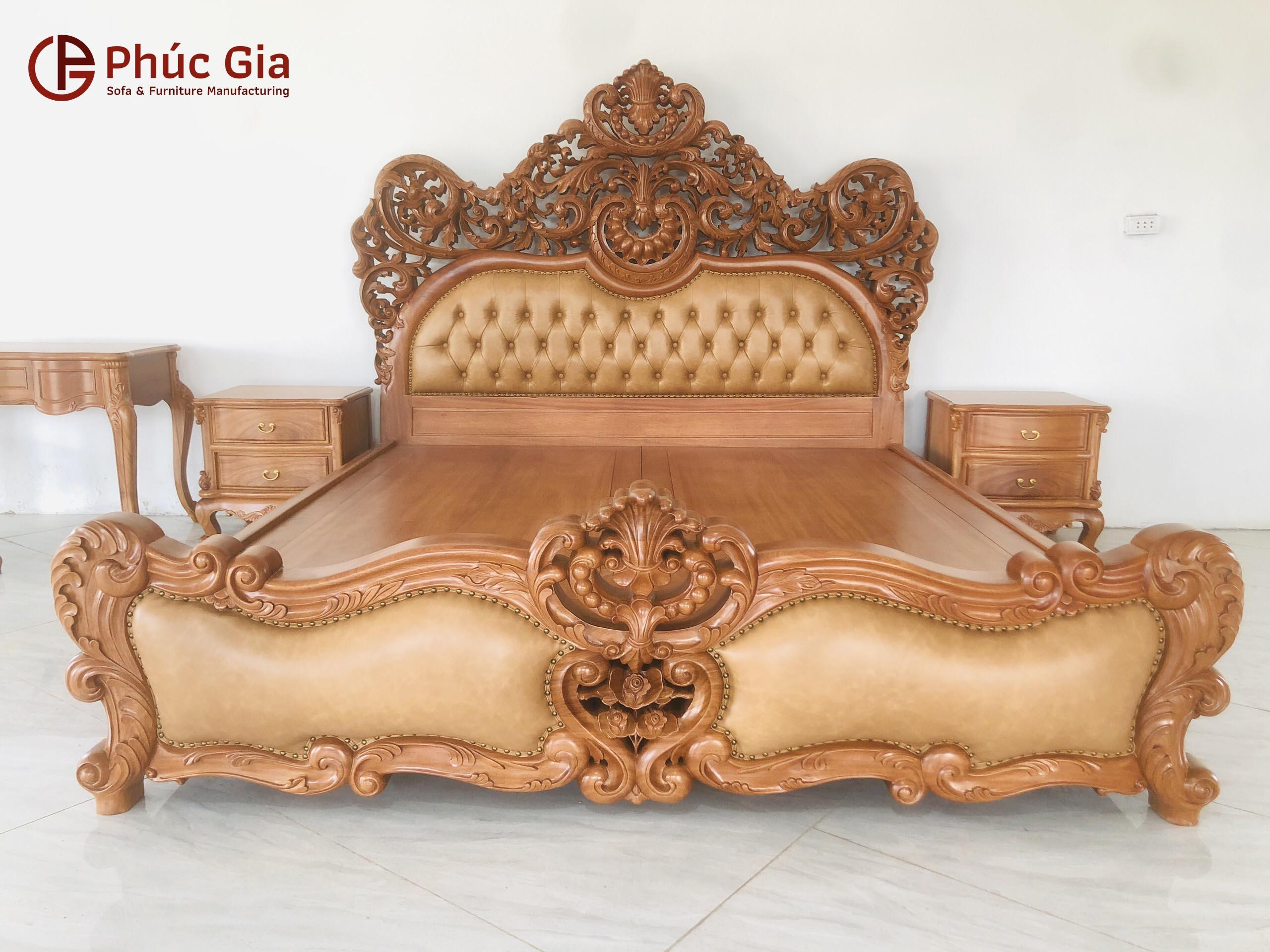 Giường ngủ Hoàng Gia Royal Luxury