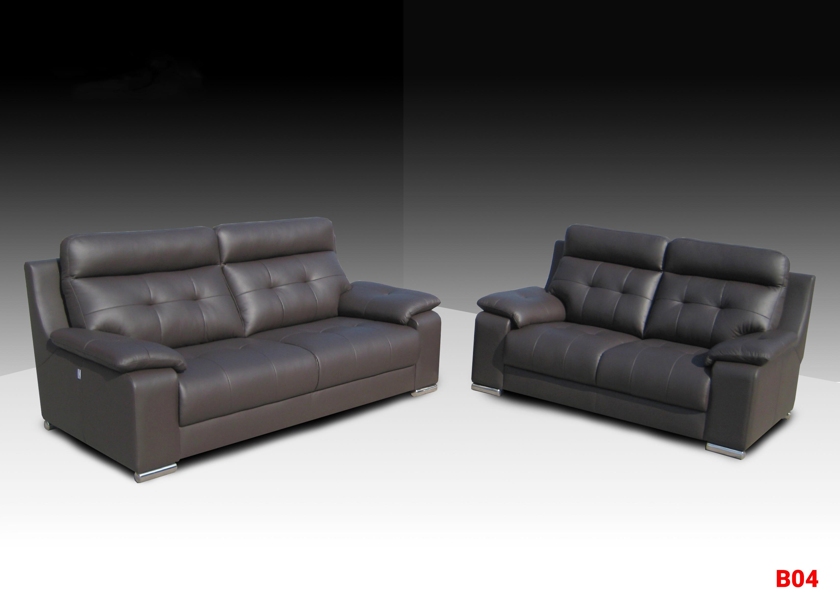 Ghế sofa da phòng khách B04