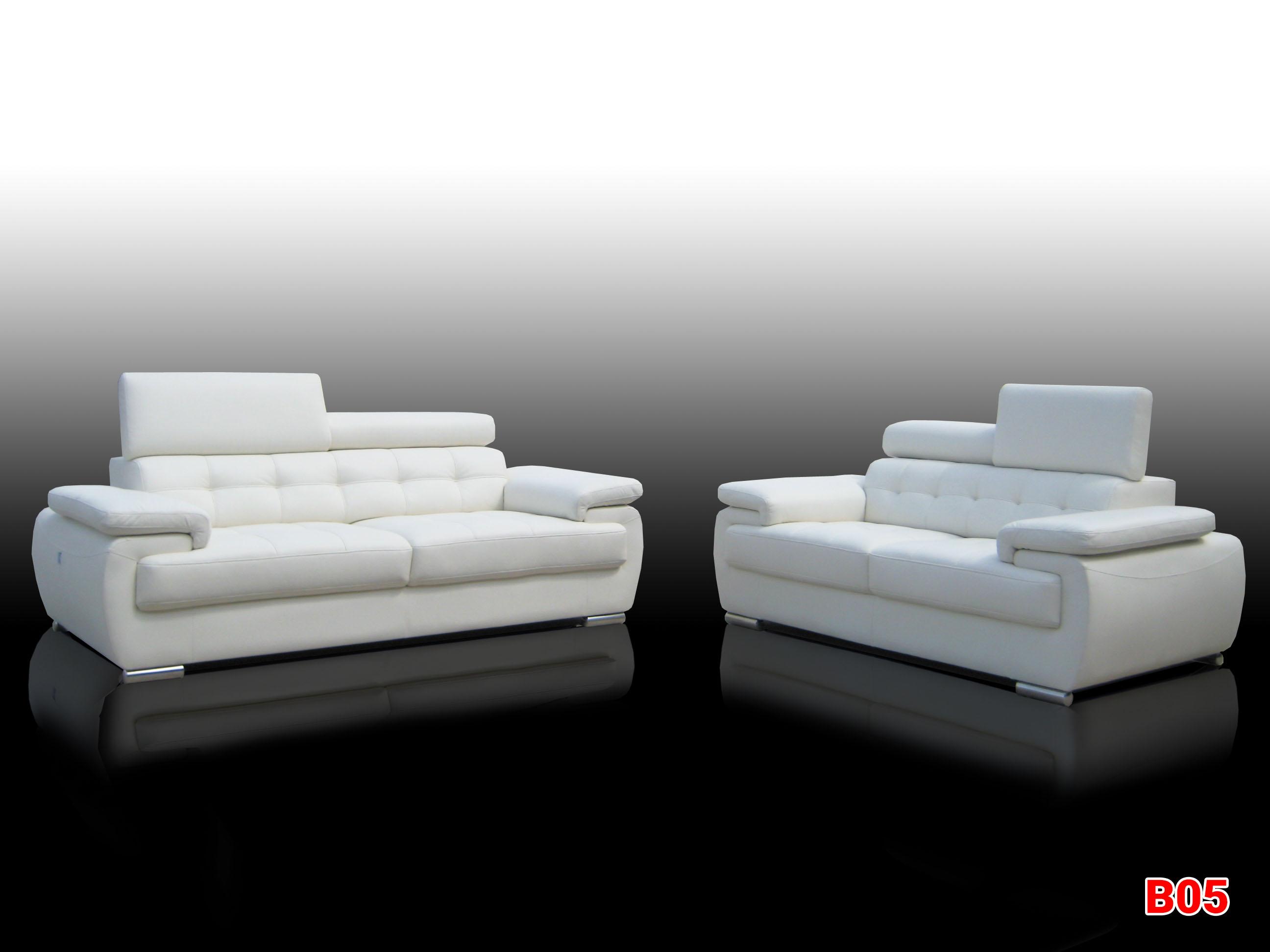 Ghế sofa da phòng khách B05