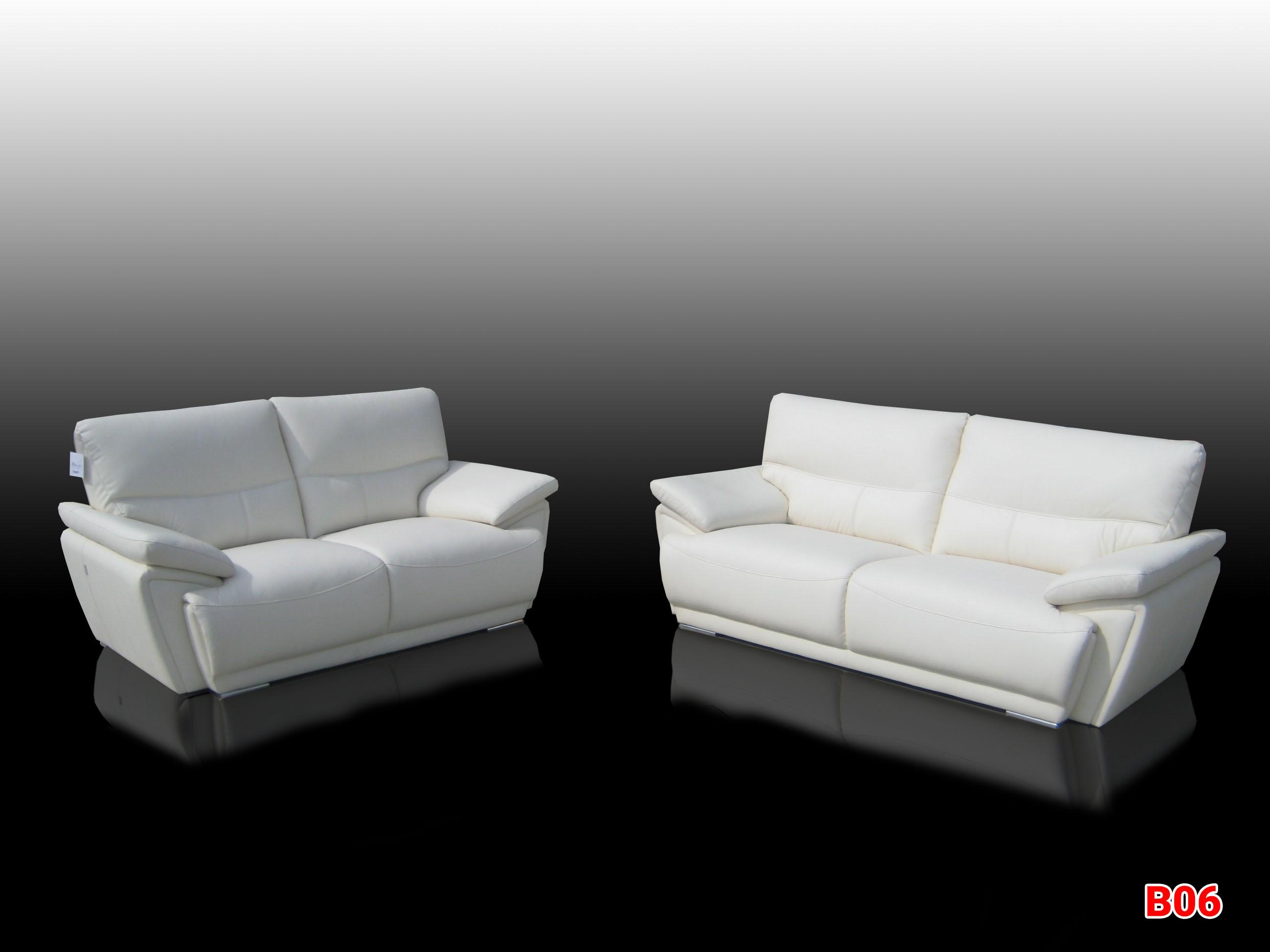 Ghế sofa da phòng khách B06