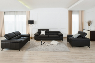 Ghế sofa da phòng khách B25