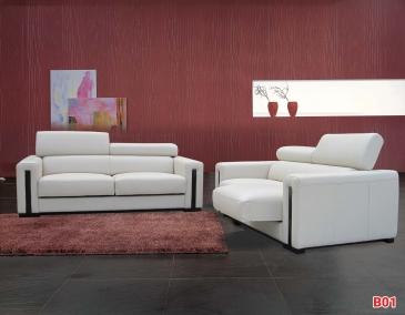 Ghế sofa da phòng khách B01