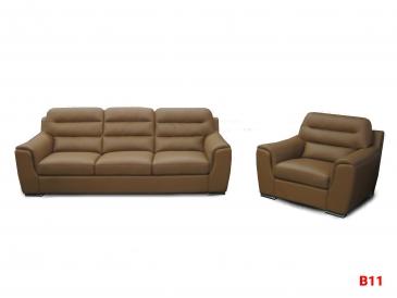 Ghế sofa da phòng khách B11