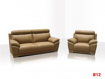 Ghế sofa da phòng khách B12