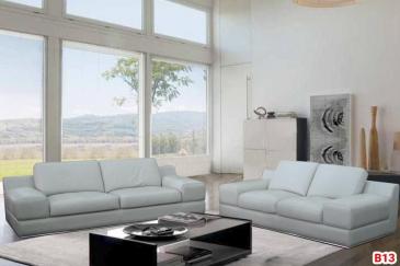 Ghế sofa da phòng khách B13