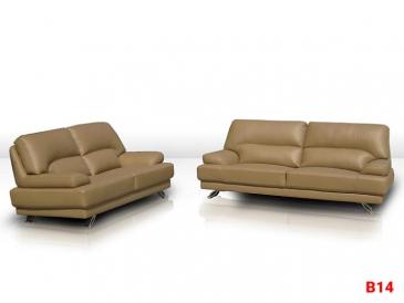 Ghế sofa da phòng khách B14