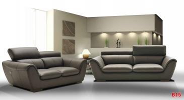 Ghế sofa da phòng khách B15