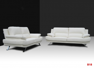 Ghế sofa da phòng khách B18