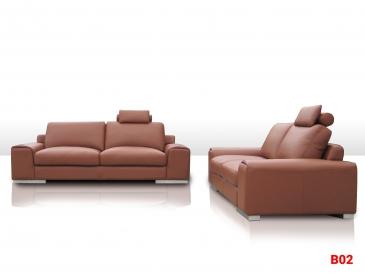 Ghế sofa da phòng khách B02
