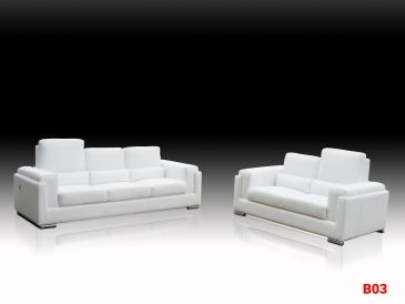 Ghế sofa da phòng khách B03