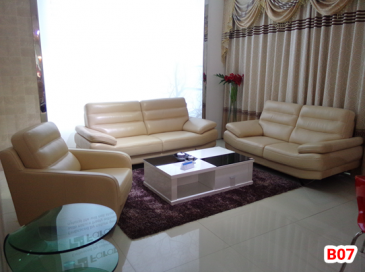Ghế sofa da phòng khách B07