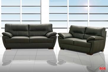 Ghế sofa da phòng khách B08