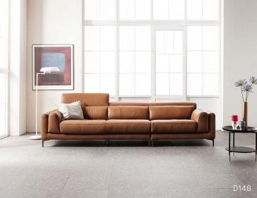 Ghế sofa da D148