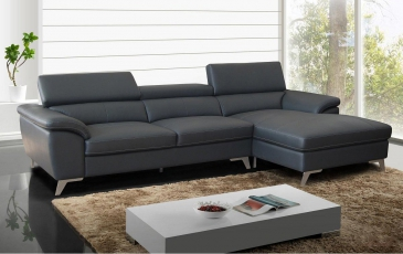 Ghế sofa da D100