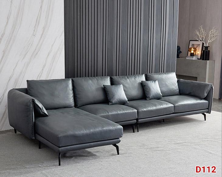 Ghế sofa da D112